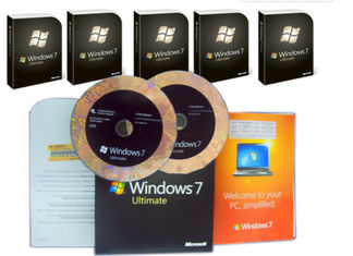 چین Microsoft Windows 7 Ultimate Edition ، Windows 7 Ultimate OEM Pack برای Global Area تامین کننده