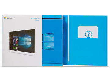 PC Windows 10 Home Retail Package , Win 10 Retail Pack Microsoft Software With USB