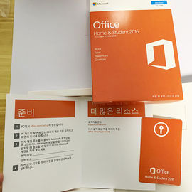Laptops Original Microsoft Office 2016 Home And Student Key Card HS Multiple Language